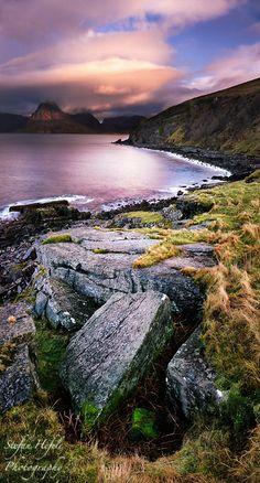 Elgol Bay on the Isle of Skye off the west coast of Scotland. by StefanHefele