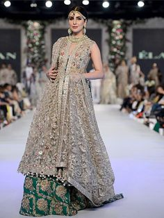 One of my favorites by Elan seen at PFDC L'Oréal Paris Bridal Week 2015 #PFDC2015 #Frugal2Fab