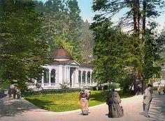 Marienbad Waldquelle 1900