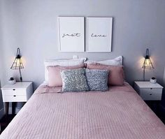 How To Decorate Bedroom For Romantic Night Fabulous Diy Ideas: Country Home Decor Ranch home decor plants tutorials.Home Decor Accessories Ralph Lauren home decor wood pallets.Home Decor Plants Tutorials… Romantic Bedroom Decorating Ideas Cheap Home Design, Design Set, Wall Design, Interior Design, Pallet Home Decor, Home Decor Bedroom, Diy Bedroom, Master Bedrooms, Night Bedroom