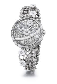 Fabergé Summer in Provence Diamond Timepiece #Fabergé #watches