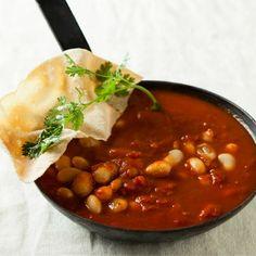 Curried bean stew