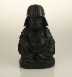 Pop culture Buddha sculptures let you worship your favorite superheroes and villains #starwars Darth Vader