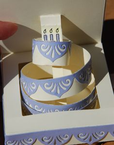 Birthday Cake Pop Up Card I made a pop up card today that I my friend is going to love. Okay, her birthday was a couple days ago, but I ...