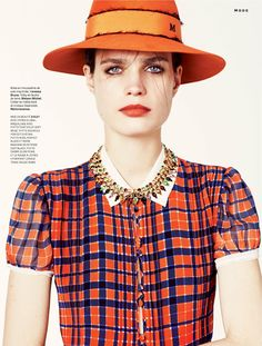 visual optimism; fashion editorials, shows, campaigns & more!: jouer à la poupée: constanza saravia by laura sciacovelli for stylist france #048 15th may 2014