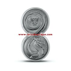 Fafnir 2 x 1 oz silver round double capsule Germania 2020 with COA Silver Rounds, Coins, Personalized Items, Coining