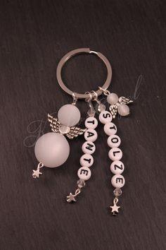 Schlüsselanhänger - Stolze Tante Schutzengel Schlüssel Anhänger  - ein Designerstück von Kreativ-Engel bei DaWanda