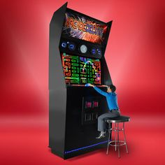 The World's Largest Arcade Machine Replica - Hammacher Schlemmer
