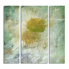 Ready2HangArt 'Bueno Exchange LXIV' 20x60-inch Canvas Triptych Art Print