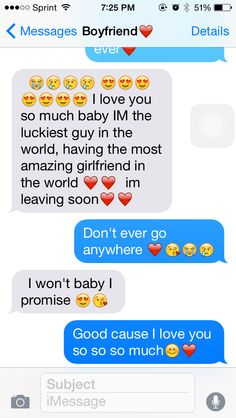 Cute Things to Text Your Boyfriend (Top 50 Texts)
