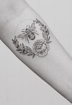 Beautiful Dotted Work. The beautiful dotted work in this tattoo is definitely making it perfect to wear.