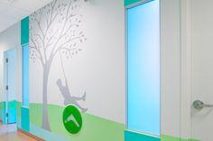 Toronto Sick Kids - Wall graphics