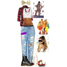 """left eye costume for tomorrow"" by basnightshine1015 on Polyvore"
