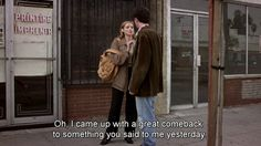 Image about quotes in That's what I thought by Victoria Kicking & Screaming, You Are My Moon, Great Comebacks, Film Quotes, Pretty Words, Film Stills, Mood Pics, Movies Showing, Mood Quotes