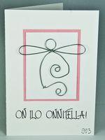 Onnittelukortti Christmas Cards, Handmade, Christmas E Cards, Hand Made, Xmas Cards, Christmas Letters, Merry Christmas Card, Christmas Card Sayings, Handarbeit