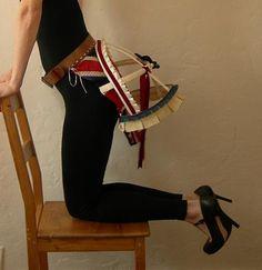 Union flag bustle belt To order by Mascherina on Etsy
