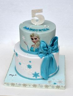 Frozen , bábiky a torty pre dievčatá torty | Tortyodmamy.sk
