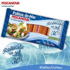 Los nuevos Palitos Pescanova, reducidos en sal, tienen el mejor sabor de siempre y son más sanos que nunca. ¡Te encantarán! Descubre nuestro producto en la nueva Revista Pescanova: