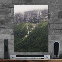 Metal Poster Majestic Mountainside