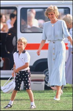 7/23/1989: Cartier International Polo Day at Guards Polo Club, with Diana, Princess of Wales (Windsor, Berkshire)