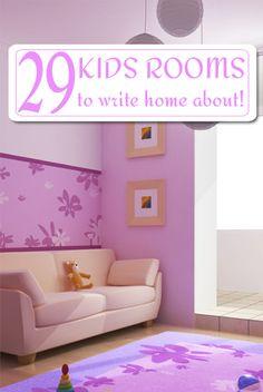29 Kids rooms