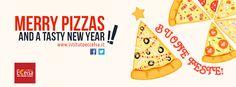 La pizza è solo per il sabato sera? Sfatiamo questa falsa credenza! La #pizza è per tutti i giorni, anche a #Natale! Merry Pizzas a tutti dai ragazzi del corso di pizzeria e panificazione!