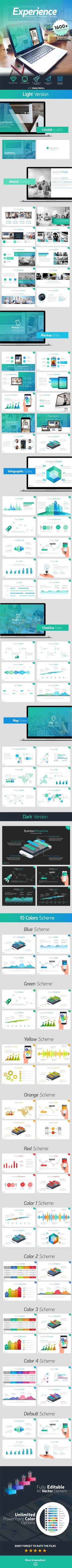 Experience Multipurpose PowerPoint Presentation Template #design #slides Download: http://graphicriver.net/item/experience-multipurpose-presentation-template/13799919?ref=ksioks