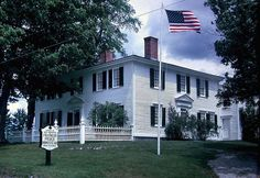 Franklin Pierce home in New Hampshire