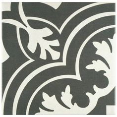 Merola Tile Twenties Classic 7-3/4 in. x 7-3/4 in. Ceramic Floor and Wall Tile (11 sq. ft. / case)-FRC8TWCL - The Home Depot