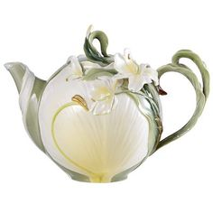 Ginger Lily Teapot.  Very pretty.  I love teapots.