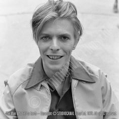 """""""You could look into my eyes""""  exclusive pictures from the 40th anniversary The Man Who Fell To Earth book"""
