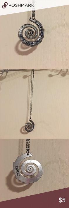 Doctor who necklace Wibbly Wobbly Timey Wimey Stuff. Never worn. Jewelry Necklaces