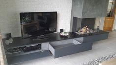 Afbeeldingsresultaat voor gashaard met tv meubel