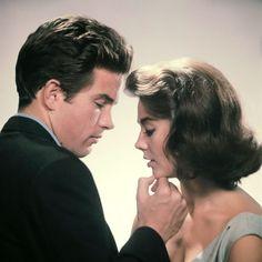 Natalie Wood and Warren Beatty, 1961. Photo by Eliot Elisofon.