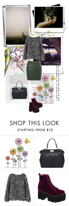 """""""Nature breathe"""" by grazhina ❤ liked on Polyvore featuring Polaroid, Jeffrey Campbell, Glamorous, women's clothing, women, female, woman, misses and juniors"""