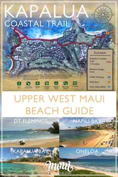 Kapalua has beautiful bays, perfect beaches, ritzy resorts, world-famous Kapalua Golf, high-end real estate, and views of the neighbor islands of Molokai and Lanai.  Here you'll find some of the best snorkeling, some great surf, and maybe even a pocket of beach to yourself (if you know where to look!) #kapalua #maui #hawaii #beaches #golf #trails #mauibeaches Maui Beach, Maui Hawaii, Kapalua Maui, Kapalua Golf, Maui Travel, Travel Usa, Hawaii Vacation Tips, Ocean Activities, West Maui