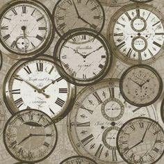 Gran Deco Time Wallpaper - Neutral