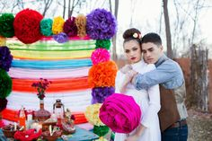 Hipster Mexican themed wedding     The Frosted Petticoat