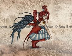 Misfit Bethany Fairy    Amy Brown   Hair Style