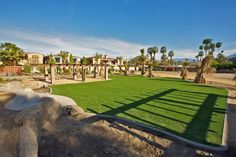 Palm Springs Vacation Rentals. View of looking down on Venue #1 from Stage Area.
