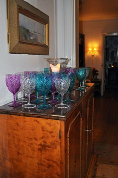 Rice wineglass www.inreda.com Wine Glass, Buffet, Rice, Cabinet, Storage, Furniture, Home Decor, Products, Clothes Stand