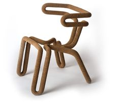 In the Round (stitch) Chair by Brent Cordner