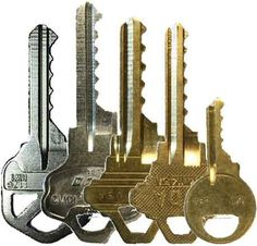This set is a great way to get into lock bumping and covers 5 of the most basics and popular keyways out there today. Our 5 Key Beginner Bump Key Set comes with: - KW1 House Bump Key - 5 Pin - M1 Padl
