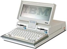 The beginnings of the laptop, Richard Sapper Mod.5140 IBM convertable personal computer