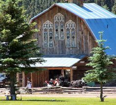 Colorado Weddings and Events at The Barn at Evergreen Memorial Park Evergreen