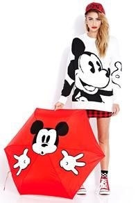 OMG I WANT that umbrella. Disney's Mickey & Co. Collection by Forever 21 #MickeyByF21