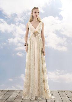 https://flic.kr/p/BfKmzv | Trouwjurken | Trouwjurken vintage, Moderne Trouwjurken, Korte trouwjurken, Avondjurken, Wedding Dress, Wedding Dresses | www.popo-shoes.nl