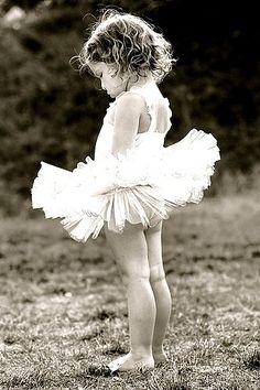 Little girls tutu