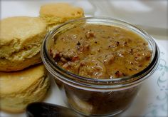 Popeyes Cajun Gravy Recipe, Gravy Recipe For Biscuits, Sausage Gravy Recipe, Cajun Sausage, Cajun Recipes, Copycat Recipes, Cooking Recipes, Creole Recipes, Sauce Recipes