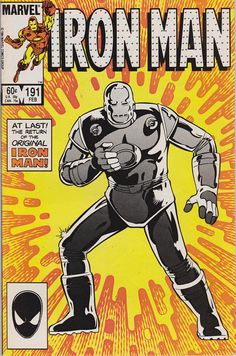 Iron Man #191 (1st Series 1968) February 1985  Marvel Comics  Grade VF